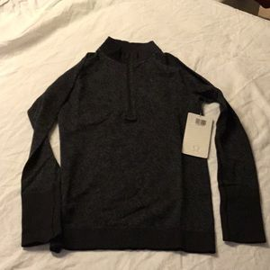 Lululemon REST LESS 1/2 ZIP